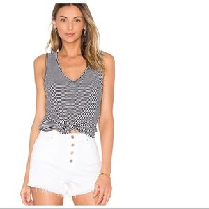 Amalfi Ribbed Stripe Tank